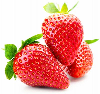 fresas y belleza