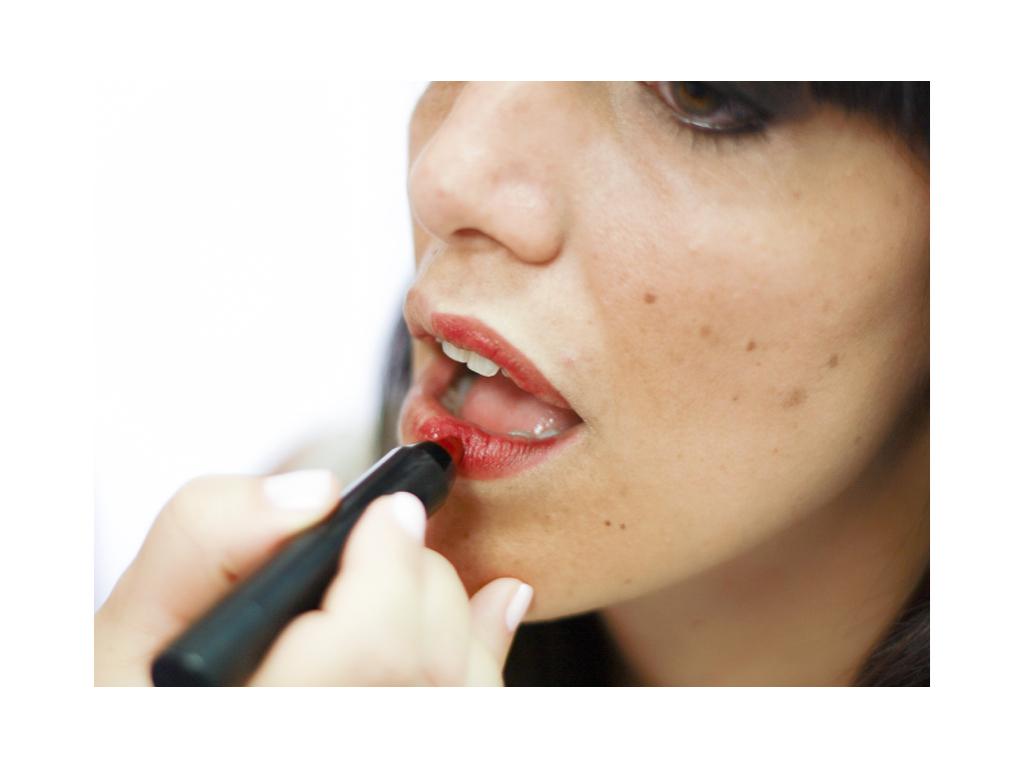 Pintar correctamente los labios