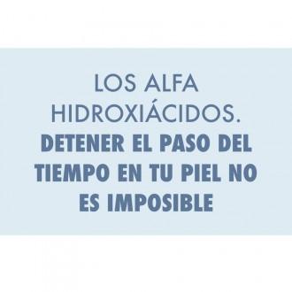 LOS ALFA HIDROXIÁCIDOS. DETENER EL PASO DEL TIEMPO EN TU PIEL NO ES IMPOSIBLE