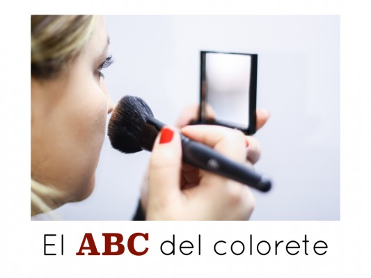 Como aplicar el colorete